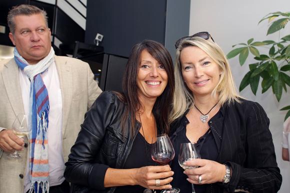 19. Florence Guyot (Champagne Margueritte Guyot) et Corinne Paris (Assurances Paris-Gerbaud)