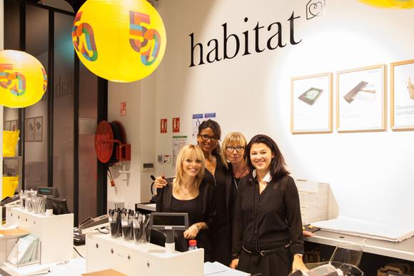 19. Brigitte Laurent (Habitat), Maxine Sommier (Habitat), Alexandra Nesme (Habitat), Fatima Bonnefon (Habitat)