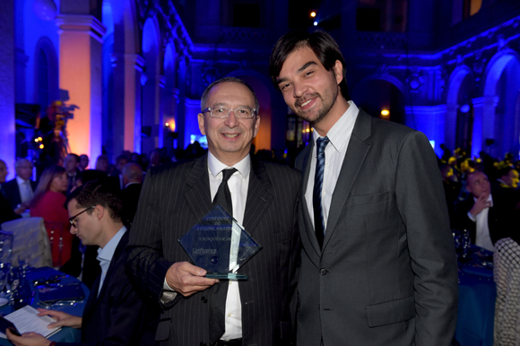 20. Marc Rizos, gagnant du concours de Cuisine Confluence et Jérémy Desprets, directeur de Confluence