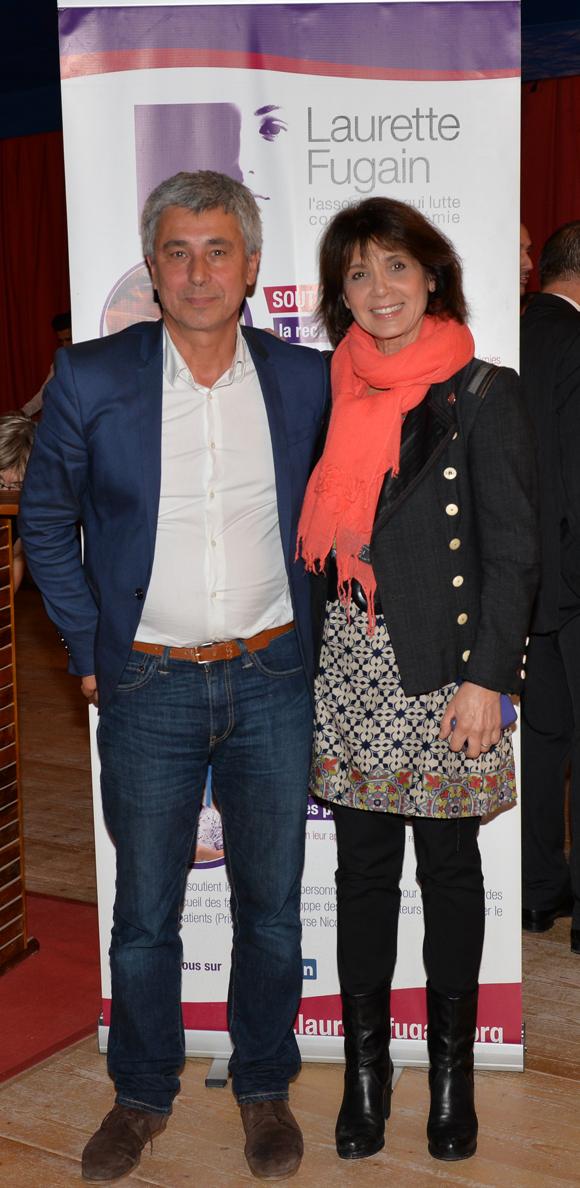 2. Jacques Mary, responsable de l'antenne de Lyon et Stéphanie Fugain, présidente de l'association Laurette Fugain