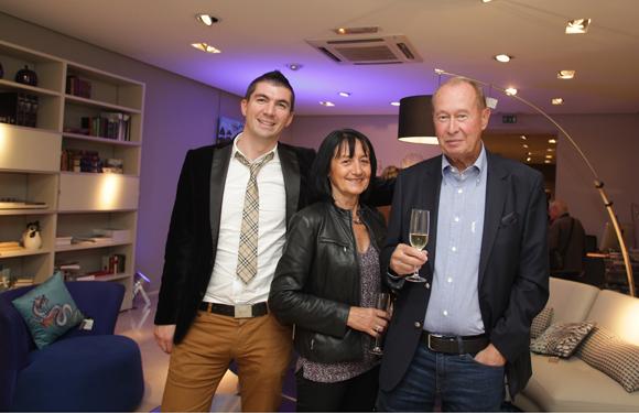 21. Joachim Gladel (Audi – Groupe Delorme), Denise Ducourthial et Pierre Amant