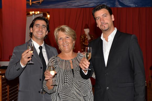 22. Esther et ses deux fils David et Serge Massot (Cirque Imagine)