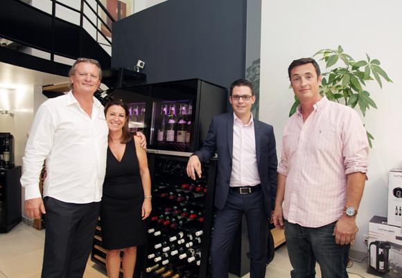 2. Eric et Paola Verbrugge, Guillaume Gaydon et Fabien Seignol (EuroCave)