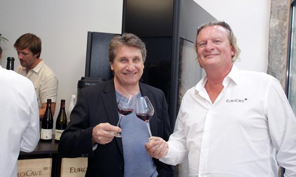 22. Patrick Bedin (SLI) et Eric Verbrugge (EuroCave)
