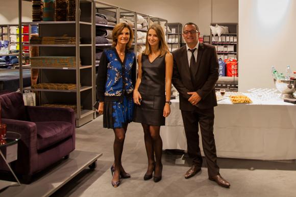 2. Richard Castronovo (BMW Gauduel), Nathalie Cot ( Habitat), Laurène Cot (Habitat)