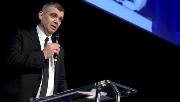 24. Laurent Bouvier, président des Toques Blanches Lyonnaises