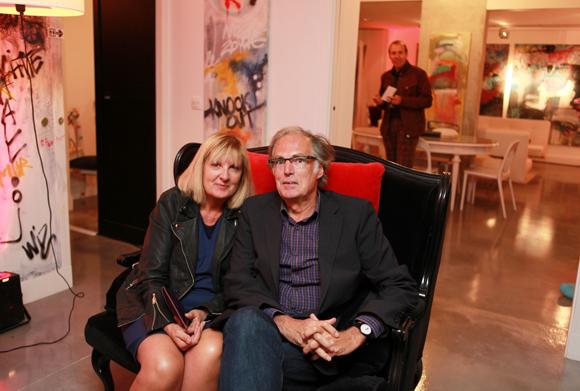 24. Danielle Jacquet, son époux Alain (Expertinfo)