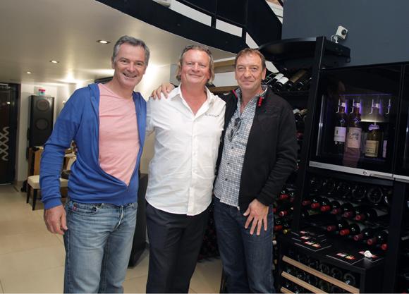 24. Jean-Charles Leyris (Crédit Agricole), Eric Verbrugge (EuroCave) et Eric Cherbland (CMR locations)