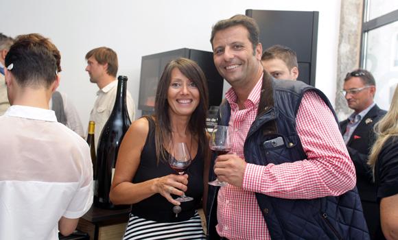 25. Florence Guyot (Champagne Margueritte Guyot) et Frédéric Maraillet (Akesa)