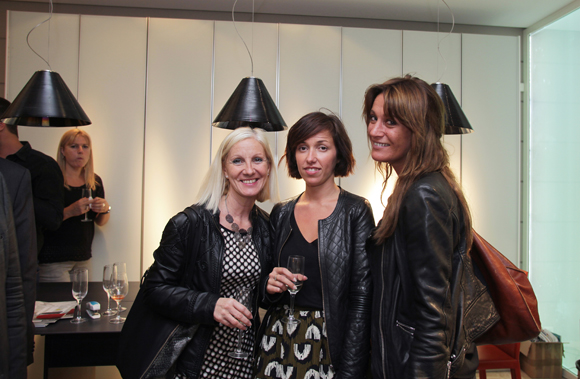 25. Isabelle Leriche (Le Progrès), Camille Artaud (groupe Delorme) et Candice Augugliaro (Le Progrès)
