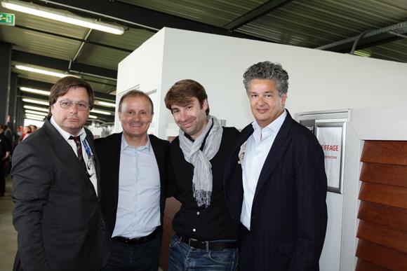 26. Franck Isaac-Sibille (LOU Rugby), Joël Lopez (ETG), Antoine Fournier (Full Time Sports), Esfandiar Bakhtiar, administrateur actionnaire à l'ETG