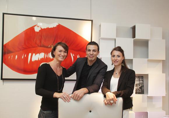 26. Virginie Clavier Alexis Boudiaf et Laurine Zacharie (Roche Bobois)