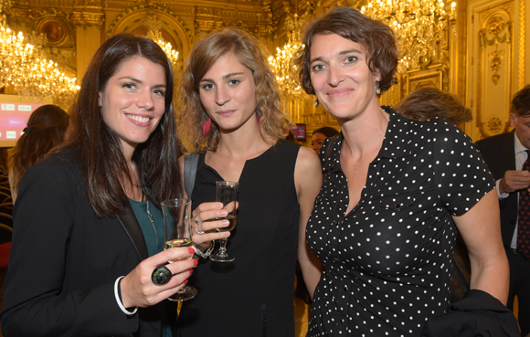 27. Emmanuelle Magliano, Charlotte Tixier (Groupe Métropole) et Catherine Dessinges (Université Lyon III)