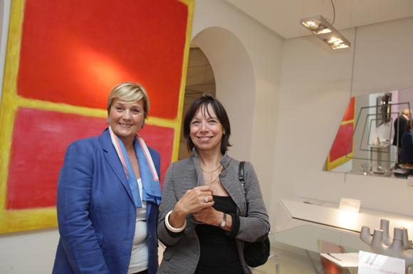 30. Elizabeth Bruyère (Roche Bobois) et Christiane Faynel