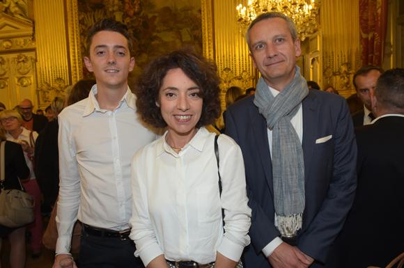 31. Julien Kuhry (Com6), Martine Vila (Université Lyon III) et Philippe Hassel (Apicil)