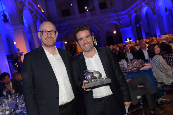 31. Jacques Déronzier (Brake France) et Julien Gautier, trophée Bistronomie (M-Restaurant à Lyon 6ème)