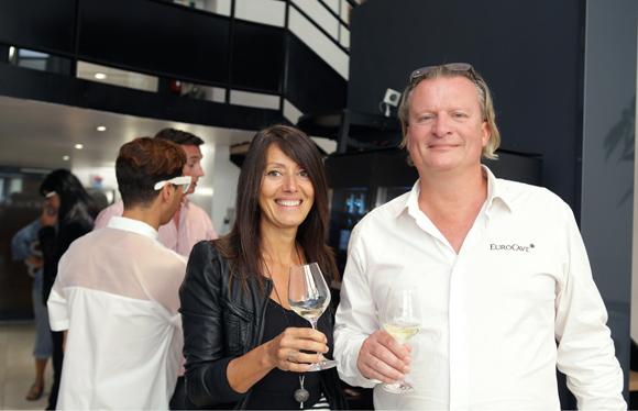 3. Florence Guyot (Champagne Margueritte Guyot) et Eric Verbrugge (EuroCave)