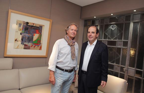32. Jean-Yves Letessier (Sevanova) et Gilles Bruyère (Roche Bobois)
