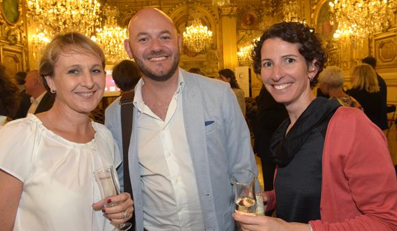 33. Anne Protheau (Université Catholique de Lyon), Wilfried Mercklen (Estri) et Emmanuelle Almendra (CPE Lyon)