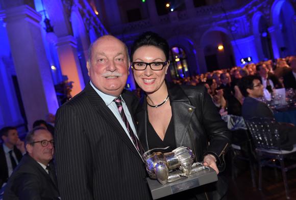 34. Paul-Etienne Carrillon (ACNIS) et Géraldine Carret, Trophée Sommelier de l'année (Elleixir à Limonest)