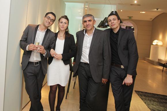34. Youssef, Laurine, Joseph et Alexis (Roche Bobois)
