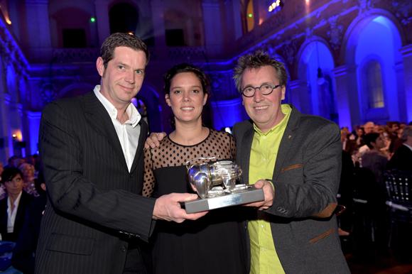 35. Clémentine Alzial (Weiss), Laurent Petit & Jean-Philippe Tavernier, Trophée Carte & Dessert de l'année (Clos des Sens à Annecy)