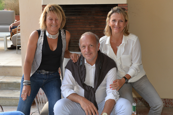 36. Christine Lopez, Louis Eric et Caroline Beckensteiner