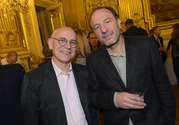 37. Jacques Simonet (InterMédia) et Gabriel Guedj (Magazine)
