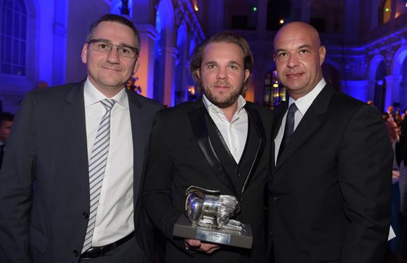 39. Pierre-Michel Erard (Renault), Nicolas Sale, Trophée Chef de l'année (Le K2 à Courchevel) et Jérôme Bocuse