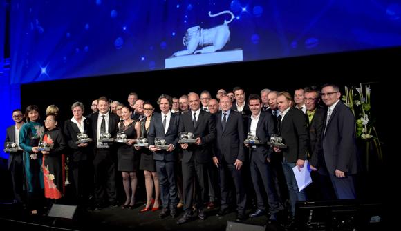 40. Les lauréats des Trophées 2014
