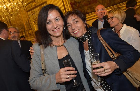41. Françoise Estienne (ERDF) et Carole Barbier (BASF)
