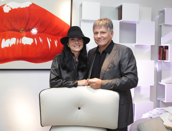 4. Catherine et Olivier Delorme, président du Groupe Delorme Automobiles