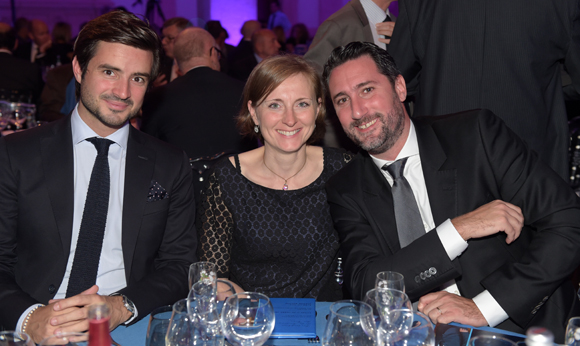 42. Maxime Levotre, Gaëtan Rostaing et son épouse Isabelle