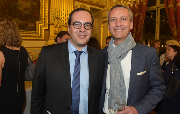 43. Jean-François Granat (Bluestar Silicones) et Philippe Hassel (Apicil)