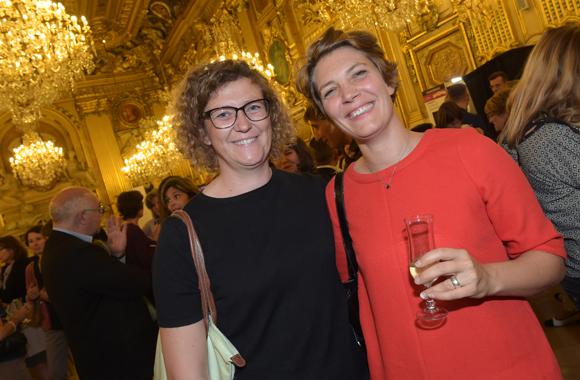 45. Estelle Verchere (Ecole sup de com) et Claire Labaune (ISCPA)