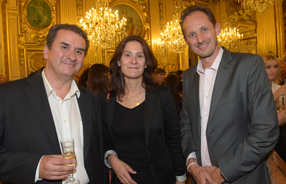 46. François Brunet, Laurence Lambert (Actitudes) et Laurent Gesse (Axial)