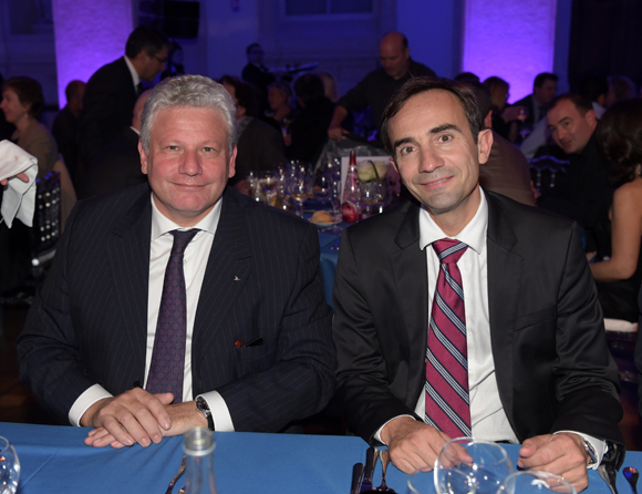 48. Frédéric Josenhans (Mercure/Novotel France) et Jean-Marc Bigot (Danone eaux France)