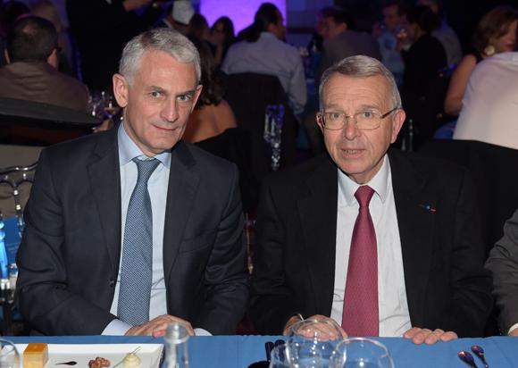 49. Thierry Villotte (Guy Degrenne) et Jean-Luc da Passano, vice-président du Conseil général