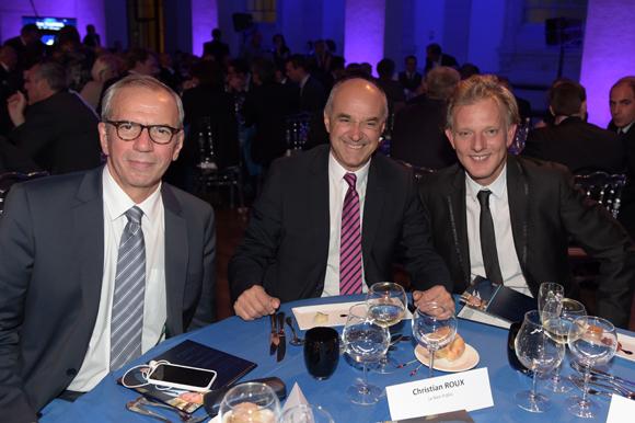 51. Ignazio Alberti (France 3), Christian Roux (Bien Public) et Serge Rombi (Euronews)