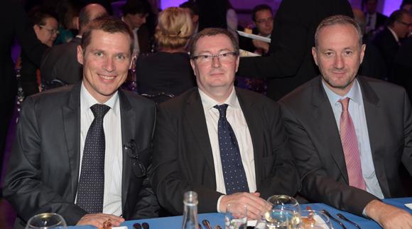 52. Alain Fauvreau (CCI Lyon), Xavier Antoyé (Le Progrès) et Jean-Michel Wetsch (Société Ricard)
