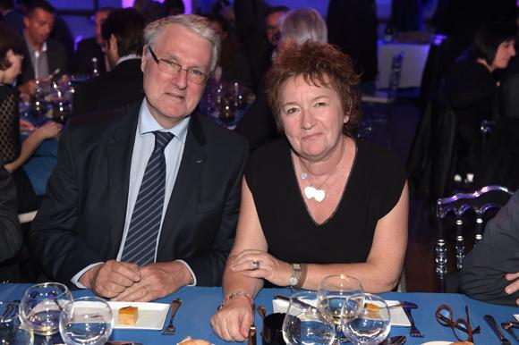58. Jean-Luc Duflot (LCL) et Françoise Monnet (Le Progrès)