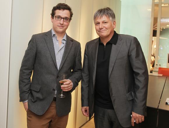6. Alexis Bruyère (Roche Bobois) et Olivier Delorme, président du Groupe Delorme Automobiles