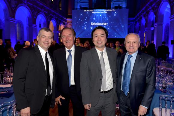 64. Laurent Bouvier, Roger Jaloux, Yusuke Ishizuka et Pierre Orsi