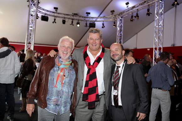 6. Jean-Louis, Christophe Gerbaud et Julien Bonnard (LOU Rugby)