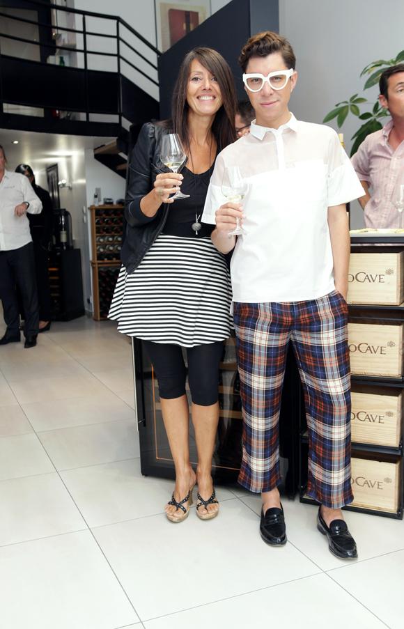 6. Florence Guyot (Champagne Margueritte Guyot) et Dado Lopez-Perez
