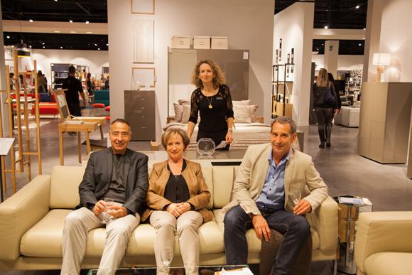 7. Jean-Claude Tranquard, Nadège Quillia, Marc Montoya, Sophie Houplon (Habitat)