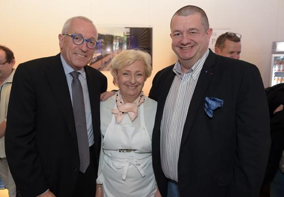 7. Jean-François Mesplède, Renée Richard et Christophe Marguin