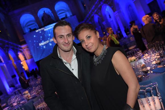 7. Nicolas Bullano (Due) et son épouse Noura (Bureau Veritas)