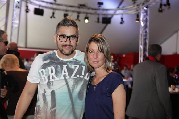 8. Olivier Germiyan (La Solution Transport) et Elodie Gastaldo (Hello Taxi 38)