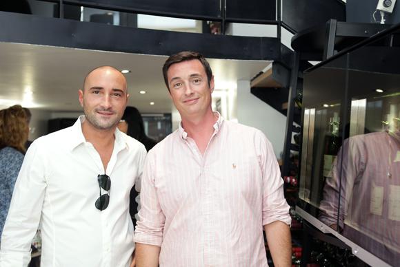 8. Nicolas Martinez (Champagne Collet) et Fabien Seignol (EuroCave)